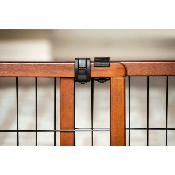 carlson pet extra tall wood pet gate free shipping today