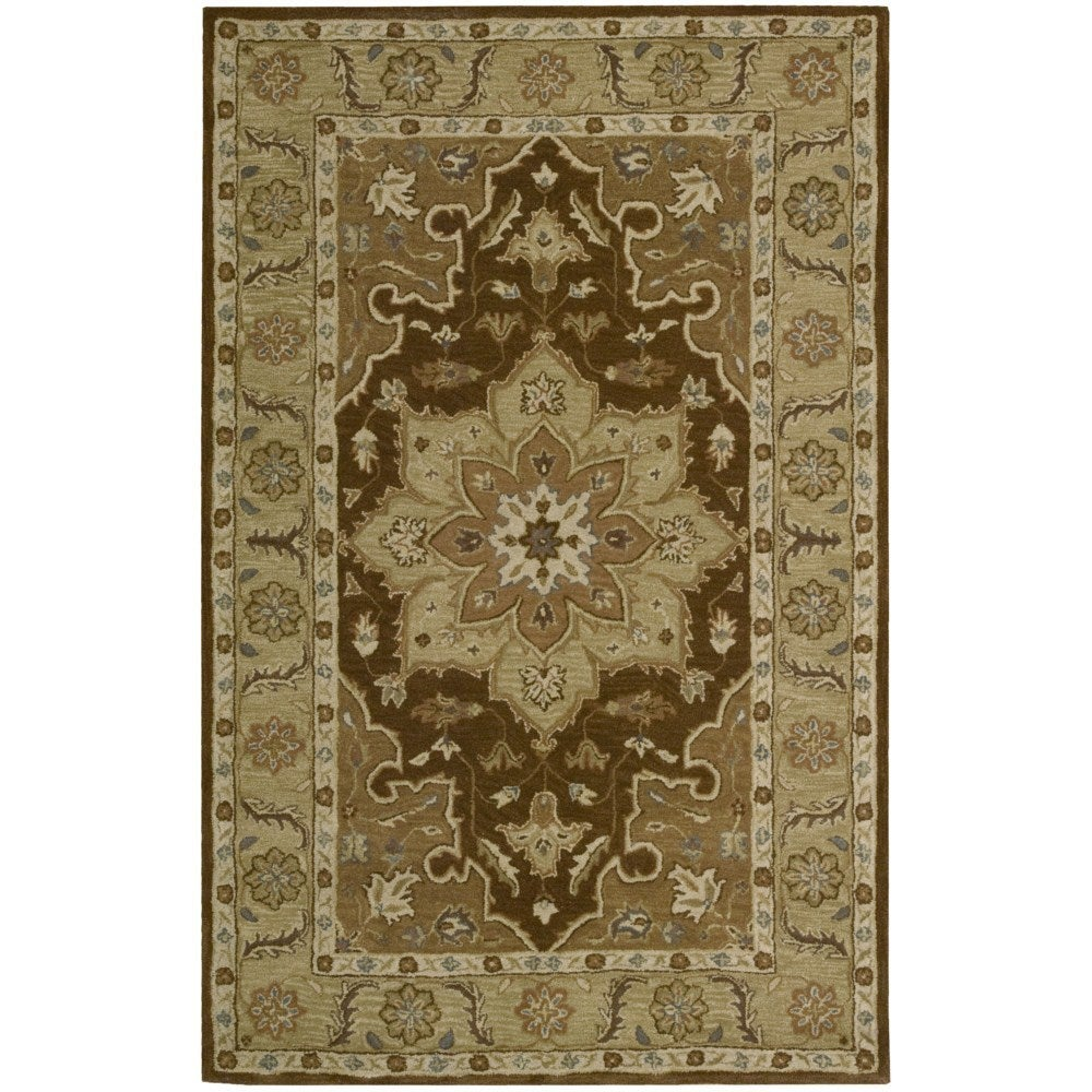 Nourison India House Chocolate Accent Rug (2' x 3') (2' x...