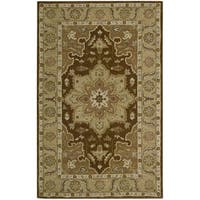 Nourison India House Chocolate Accent Rug - 2' x 3'