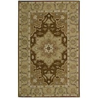 Nourison India House Chocolate Accent Rug (2' x 3') - 2' X 3'