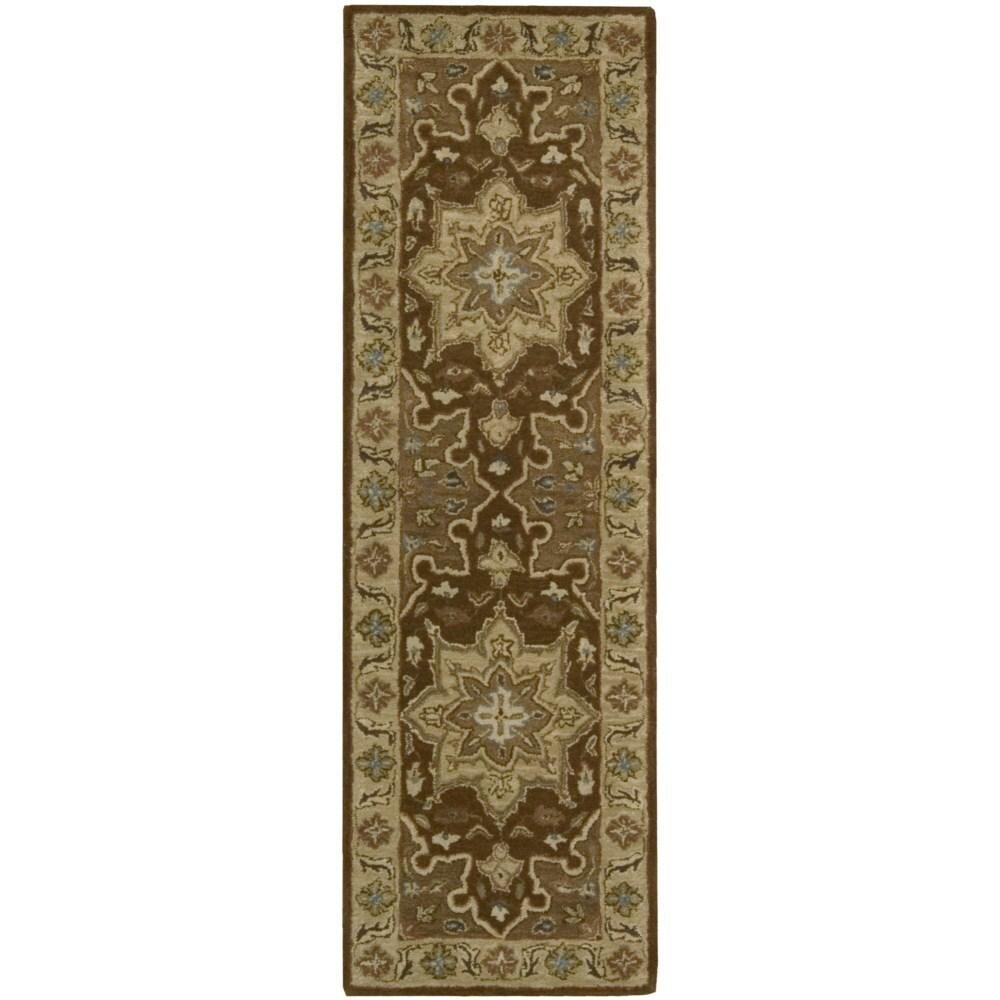 Nourison India House Chocolate Runner Rug (2' x 7') (2' x...