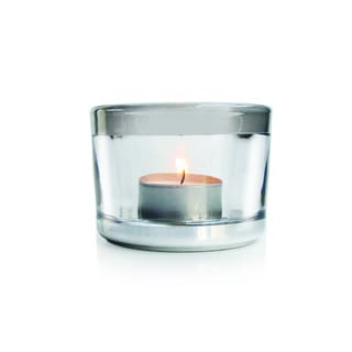 Luxe Praha Silver Accent Votive/ Tea Light Holder