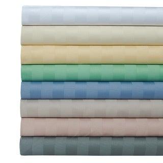 egyptian cotton 500 thread count striped sheet set with bonus pillowcases - Striped Sheets