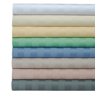Egyptian Cotton 500 Thread Count Striped Sheet Set with Bonus Pillowcases (More options available)