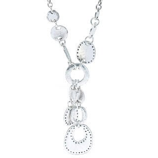 Southwest Rolo Chain Silver Necklace