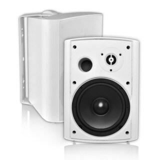 OSD Audio AP650 150 W RMS Outdoor Speaker - 2 Pack - White