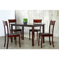 Ida Brown 5-piece Dining Set