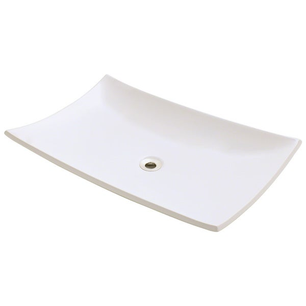 Polaris Sinks Bisque Porcelain Vessel Sink