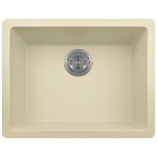 Polaris Sinks Beige AstraGranite Single Bowl Kitchen Sink