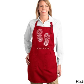 Beach Bum Flip Flops Kitchen Apron