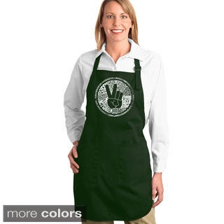 Make Love Not War Kitchen Apron