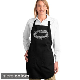 Crown of Thorns Kitchen Apron