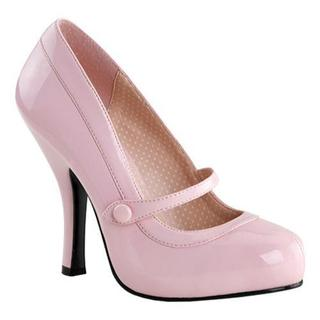 Women's Pin Up Cutiepie 02 Baby Pink Patent