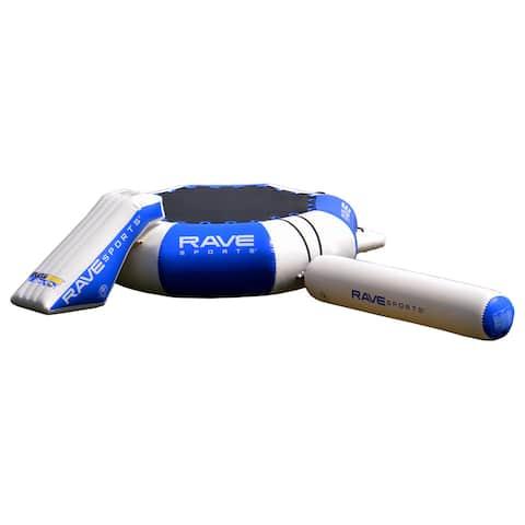 Rave Sports 16-foot Splash Zone Plus Inflatable Bouncing Platform