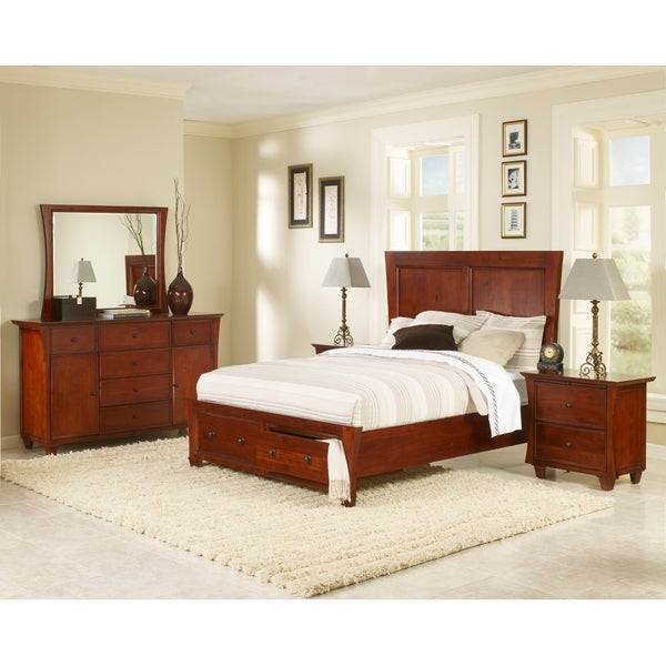 Shop Park City Collection 6 Piece Bedroom Set Free Shipping Today 9017169