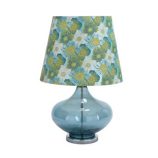 Casa Cortes Regina 27-inch Clear Glass Table Lamp