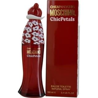 Moschino Cheap and Chic Petals Women's 3.4-ounce Eau de Toilette Spray