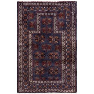 Handmade One-of-a-Kind Balouchi Wool Rug (Afghanistan) - 2'9 x 4'4
