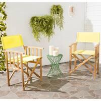Safavieh Outdoor Living Laguna Acacia Wood Director Chair (Set of 2)