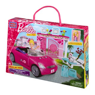 Mega Bloks Barbie Build n Style Convertible Playset