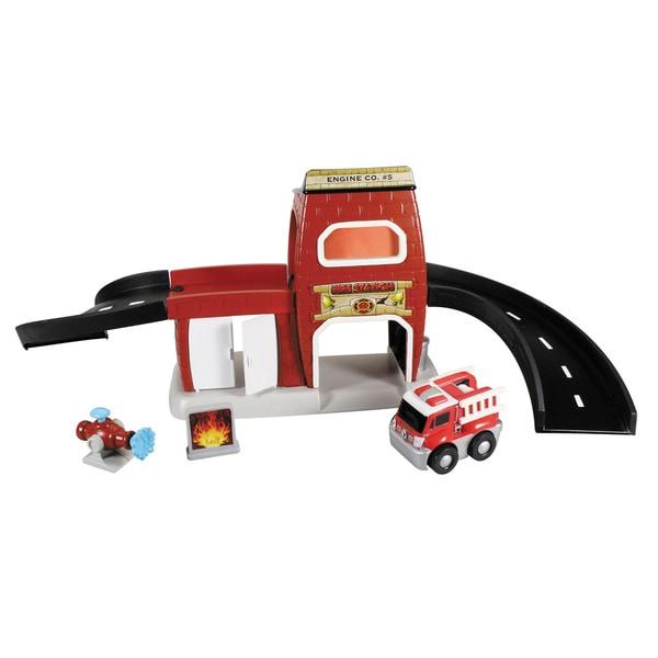 Kid Galaxy GoGo City Fire Station Playset