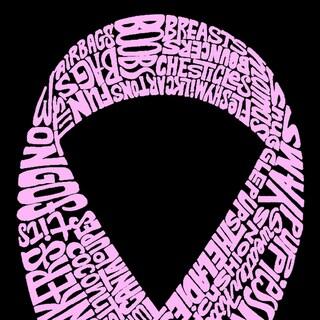 Breast Cancer Ribbon Kitchen Apron