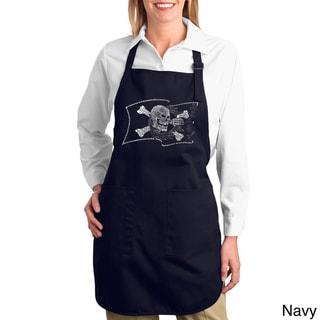 Pirate Flag Cotton Kitchen Apron
