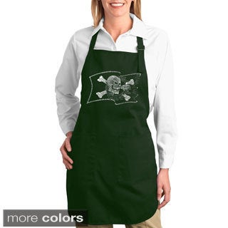 Pirate Flag Cotton Kitchen Apron