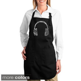 Music Headphones Kitchen Apron