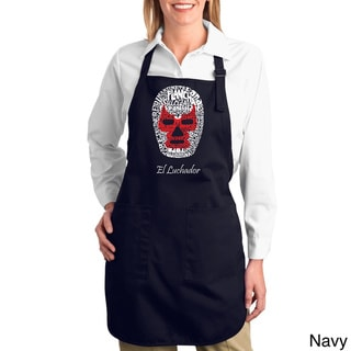 Luchador Wrestling Mask Cotton Kitchen Apron