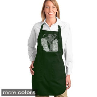 Endangered Species Elephant Kitchen Apron