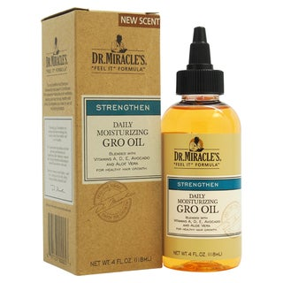 Dr. Miracle's Daily Moisturizing 4-ounce Gro Oil
