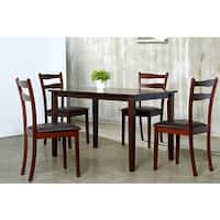 Brown Callan 5-piece Dining Furniture Set