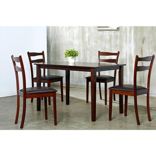 Brown Callan 5-piece Dining Furniture Set