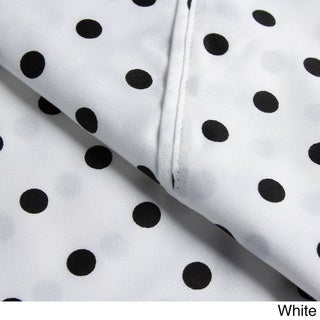 Superior Wrinkle Resistant Polka Dot Sheet Set