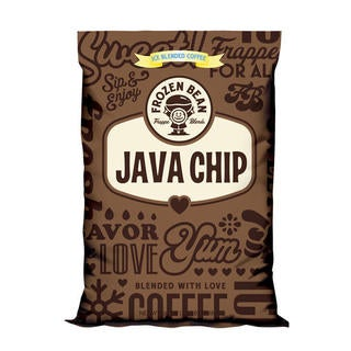 Frozen Bean Java Chip Mix (Case of 5)