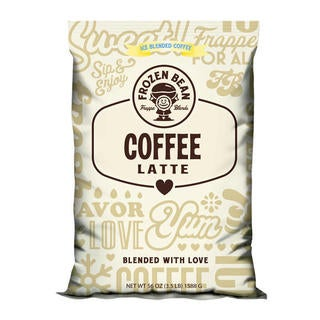 Frozen Bean Coffee Latte (Case of 5)