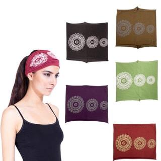 Handmade Unisex Mandala Organic Cotton Headband (Nepal)