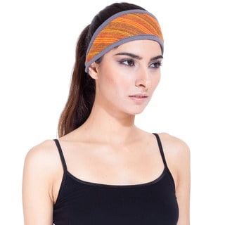 Handmade Women's Striped Cotton Headband (Nepal)