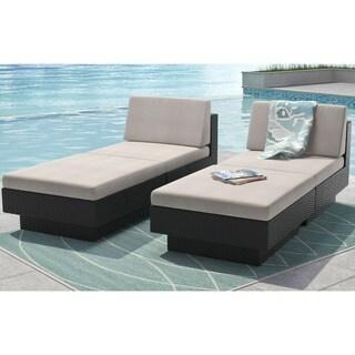 Park Terrace 4pc Chair and Ottoman Patio Set