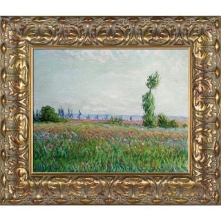 Claude Monet 'The Fields of Poppies ' Hand Painted Framed Canvas Art|https://ak1.ostkcdn.com/images/products/9018232/P16219344.jpg?impolicy=medium