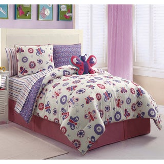 VCNY Butterfly Garden 9-piece Bed in a Bag with Sheet Set