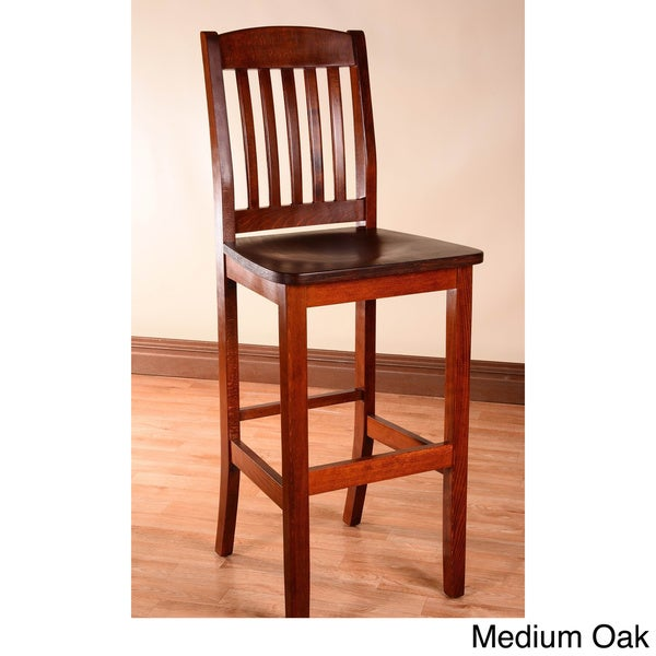 College Solid Beech Wood Bar Stool - Free Shipping Today - Overstock.com - 16227103  sc 1 st  Overstock.com & College Solid Beech Wood Bar Stool - Free Shipping Today ... islam-shia.org