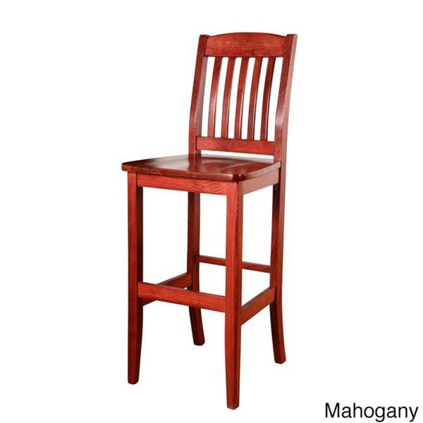 Wondrous Shop College Solid Beech Wood Bar Stool Free Shipping Unemploymentrelief Wooden Chair Designs For Living Room Unemploymentrelieforg
