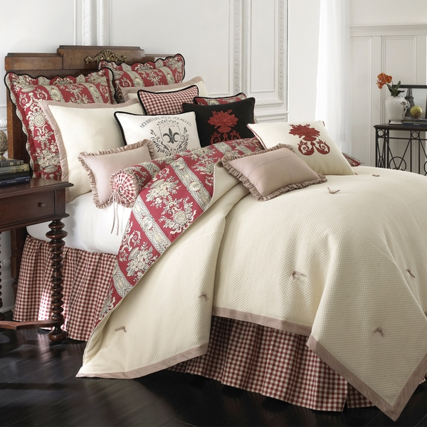 Rose Tree Montpellier Cotton 6-piece Comforter Set