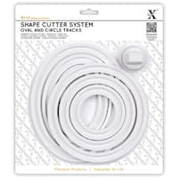 Xcut Shape Cutter System/Cutter Carriage 7pcs-Oval & Circle Tracks