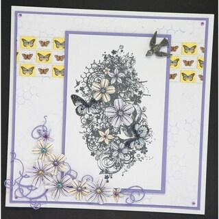 "Indigoblu Cling Mounted Stamp 7""x5""-Summer Lovin"
