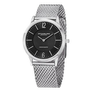 Stuhrling Original Men's Somerset Elite Swiss Quartz Stainless steel Bracelet Watch https://ak1.ostkcdn.com/images/products/9027444/Stuhrling-Original-Mens-Somerset-Elite-Swiss-Quartz-Stainless-steel-Bracelet-Watch-P16227641.jpg?impolicy=medium