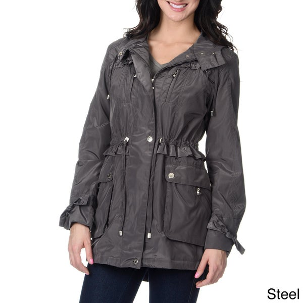Womens Lined Rain Jacket
