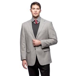 Prontomoda Italia Men's Light Grey Wool Jacket